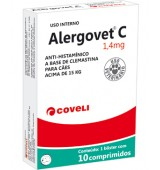 ALERGOVET C 1,4MG 10COMP COVELI