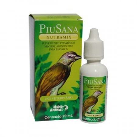 Piusana Nutramix 20ml Mundo Animal