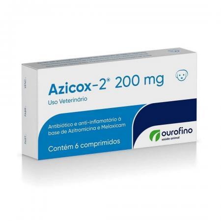Azicox-2 200mg Ouro Fino