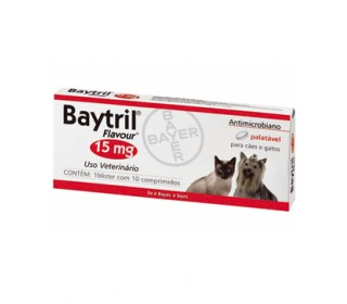 Baytril 15mg 10 C Bayer