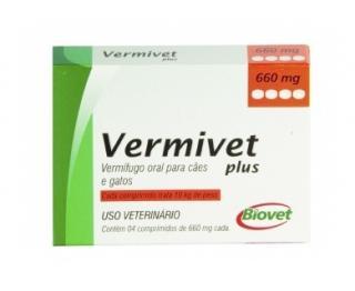 VERMIVET PLUS 2 CP (30KG)  BIOVET