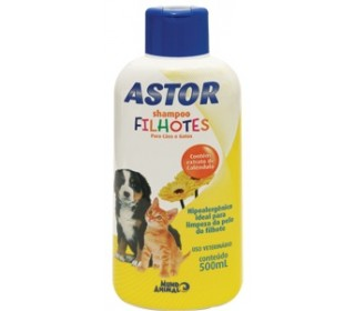 Shampoo Astor Filhotes 500ml(tear Less) Mundo Animal