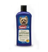 SHAMPOO SANOL DOG ANTIPULGAS 500ML