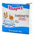 SABONETE ANTIPULGAS IBAPET 80G IBASA