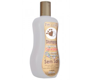 Shampoo Condicondicionador sem Sal 500ml Pet Life