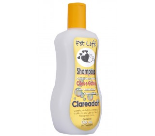 Shampoo Condicionador clareador 500ml - Pet Life