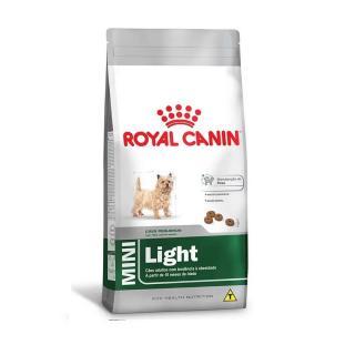 Ração Mini Light Pequeno Adulto 1kg Royal Canin