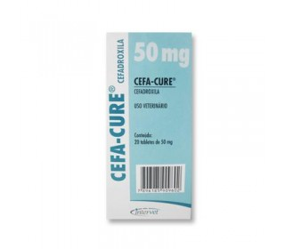 CEFA-CURE 50MG 20 TABLETES MSD