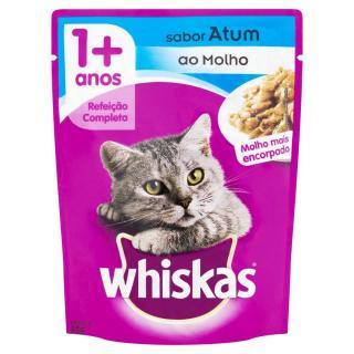 Whiskas Sache Pratos Favoritos Atum 85 g