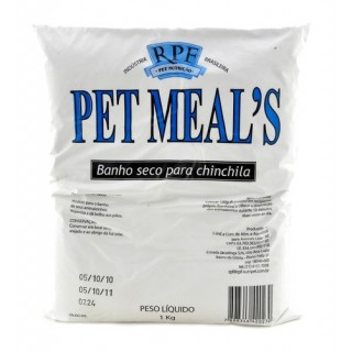 Po P/banho Chinchila 1kg  Pet Meals