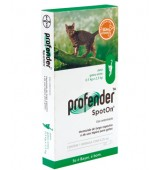 PROFENDER SPOT ON (0,5 A 2,5KG) 0,35ML BAYER