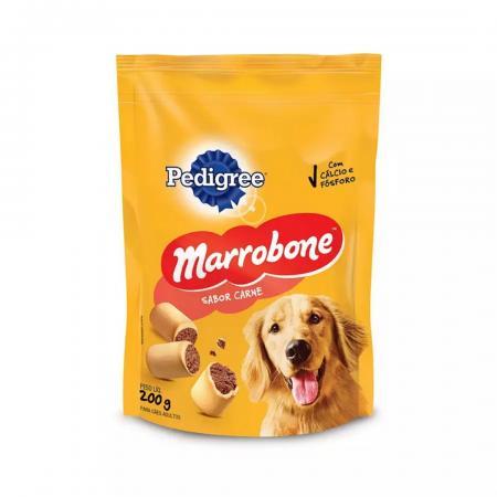 Pedigree Marrobone Biscoito Recheado Caes 200g