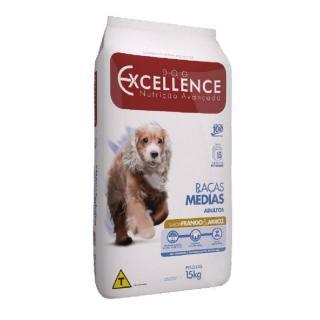 Ração Dog Excellence Raça Médias Adulto Frango/arroz 15kg