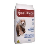 Ração Dog Excellence Raça Médias Adulto Carne/arroz 15kg
