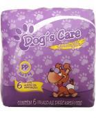 DOGS CARE FRALDA ABSORVENTE FEMEA TAM.PP 6 UNT DOG CARE