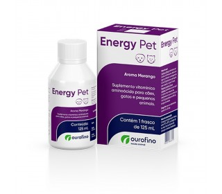 Energy Pet Suplemento Vitamínico Ouro Fino 125ml