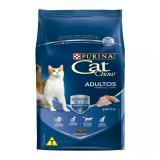 Cat Chow Adulto Ração para Gatos  Peixe 3 Kg - Purina