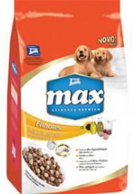 Ração Max Premium Especial Cães Filhotes Carne 2kg