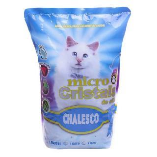 AREIA P/GATO MICRO CRIST.SILICA 1.8KG 70311 CHALESCO