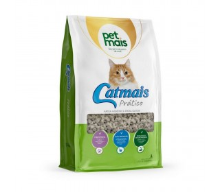 Granulado Sanitario Cat Mais Pratico 1,8kg Pet Mais