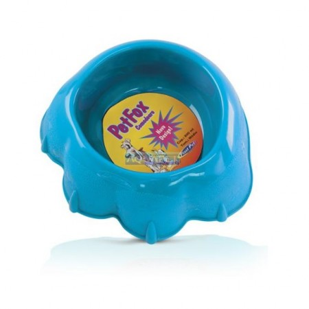 Comed.pet Fox Med Ref.490 Azul Plast Pet