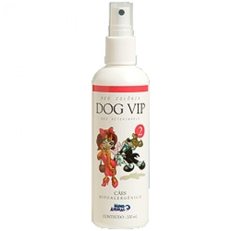 DEO COLONIA DOG VIP 2 120ML FEMEA MUNDO ANIMAL