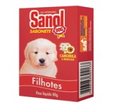 SANOL DOG SABONETE FILHOTE 80GR
