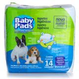 Tapete Higienico para cães Baby Pads 60x65 cm com 14un Petix