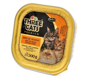 Hercosul Three Cats Frango 300g