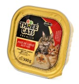 Hercosul Three Cats Carne 300g