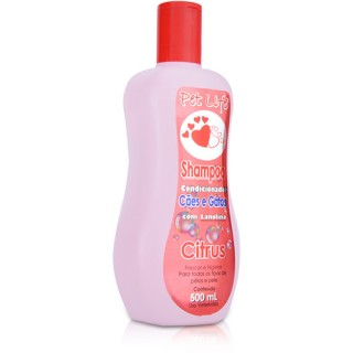 Shampoo Condicionador citrus 500ml - Pet Life