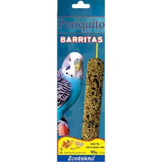 BARRITAS PERIQUITO 60GR  ZOOTEKNA