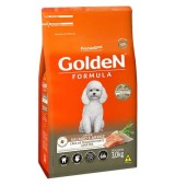 RAÇÃO GOLDEN ADULTO MINI BITS SALMAO & ARROZ 3KG PREMIER
