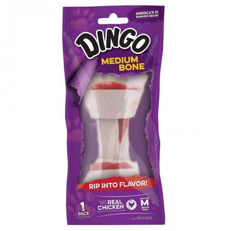 Osso Para Cães Raças Peq. Premium Medium Bone 1Un 65g Dingo