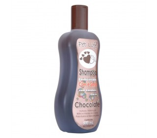 Shampoo Condicionador aroma de Chocolate 500ml - Pet Life