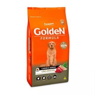 Ração Golden Cães Adultos Carne E Arroz 3kg Premier