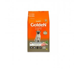RAÇÃO GOLDEN LIGHT FRANGO & ARROZ MINI BITS FRANGO 1KG PREMIER