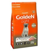 RAÇÃO GOLDEN LIGHT FRANGO & ARROZ MINI BITS  3KG PREMIER