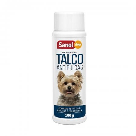 SANOL DOG TALCO ANTIPULGAS 100GR