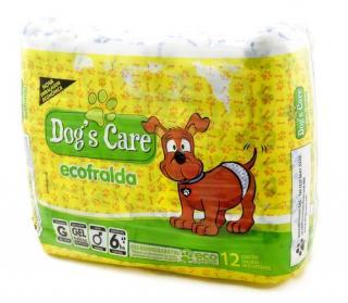 FRALDA ECONÔMICA C/12 MACHO G (DOGS CARE)