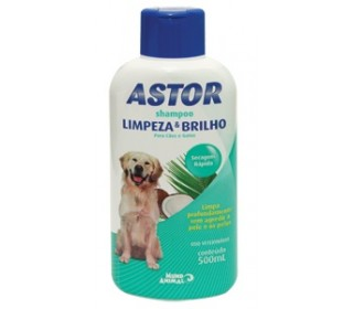 Shampoo Astor Limpeza E Brilho 500ml Mundo Animal