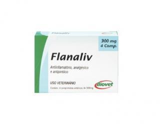 Flanaliv 300mg C/4 Comp Biovet