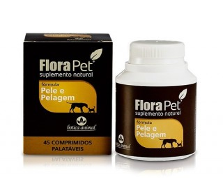 Flora Pet Pele E Pelagem  45comp