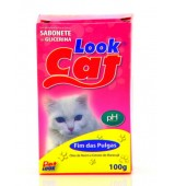 SABONETE LOOK CAT FIM DAS PULGAS PET LOOK 100G
