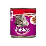 Whiskas Lata Carne ao Molho 290 gr