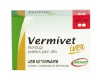 VERMIVET IVER 4 CP 660MG  BIOVET