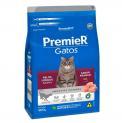 Ração Para Gatos Premier Gato Adulto Pelo Longo Frango 500g