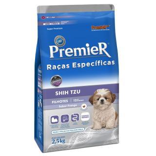 Ração Premier Raças Específicas Shih Tzu 2,5kg Cães Filhotes