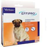 Antipulgas E Carrapatos Effipro Caes Ate 10k 0,67 ml Virbac