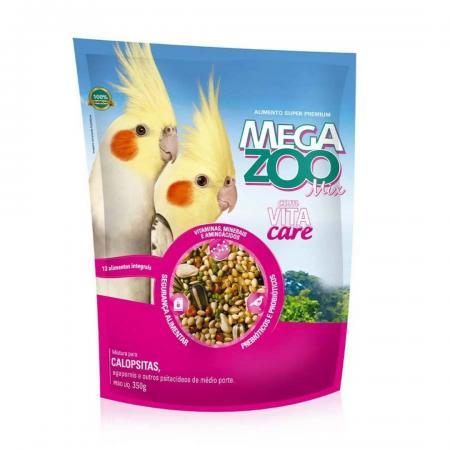 Megazoo Zoo Mix  Calopsita/agapornis 350g